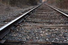 Free Railroad Tracks Royalty Free Stock Photo - 4640925