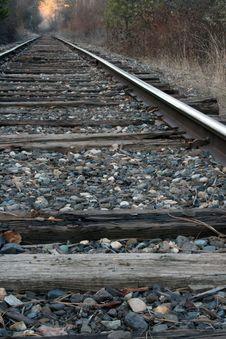 Free Railroad Tracks Stock Image - 4640931