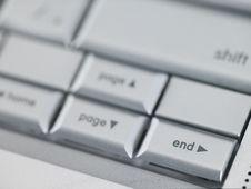 Free Keyboard End Key Royalty Free Stock Photos - 4640968