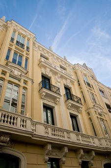 Free A Building In  Burbon  Madrid Area Stock Photo - 4641260