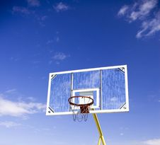 Free Basketball Net With Back Royalty Free Stock Image - 4641356