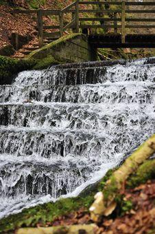 Free Woodland Waterfall Royalty Free Stock Photos - 4641988