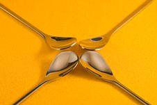 Free Tea Spoons Royalty Free Stock Photography - 4642167