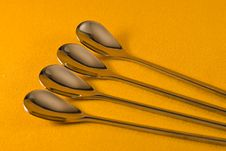 Free Tea Spoons Stock Photography - 4642172