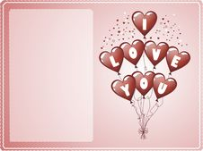 Free Love Card Royalty Free Stock Images - 4642269