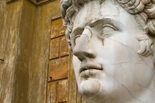 Free Statue Of Emperor Augustus Stock Images - 4643924