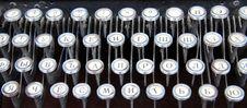 Free Typewriter Royalty Free Stock Photography - 4644187
