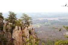Free Mountain Cliff Ridge With Trees Royalty Free Stock Photo - 4644695