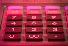 Free Keyboard Of Calculator Stock Photos - 4644893