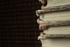Free Old Books Royalty Free Stock Photography - 4646657