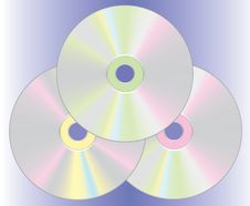 Free Vector Compact Disc Royalty Free Stock Image - 4646896