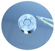 Free Hard Disk Drive Details Royalty Free Stock Photos - 4647038