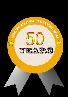 Free Golden Jubilee Stock Photography - 4647052