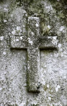 Free Gravestone Cross Stock Images - 4647624