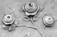 Free Carved Roses Royalty Free Stock Photos - 4647638