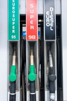 Free Fuel Pumps Royalty Free Stock Photography - 4647837