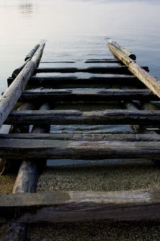 Free Wooden Boat Ramp Stock Photos - 4647853