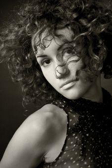 Free Portrait Of A Woman Stock Photo - 4648160