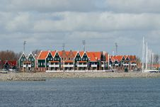 Free Typical Dutch Houses Stock Photos - 4648383