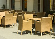 Free Empty Street Restaurant Royalty Free Stock Images - 4648399