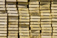 Free Stacked Crates Background Stock Photos - 4648403