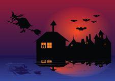 Free Hallowen Wirh Pumpkin Stock Image - 4648751