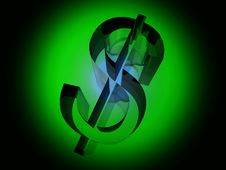 Free The Dollar 4 Royalty Free Stock Image - 4649166