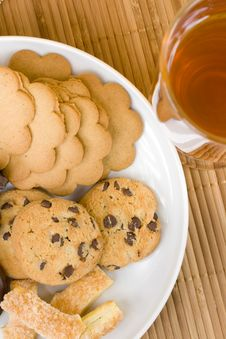 Free Cookies And Tea Royalty Free Stock Photos - 4649208