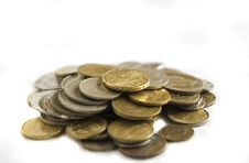 Free Coins Royalty Free Stock Photography - 4649567