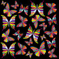 Free Rainbow Butterflies Royalty Free Stock Images - 4651149