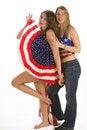 Free Patriotic Ladies Stock Photo - 4654520