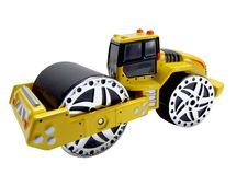Road Roller Toy Stock Photo