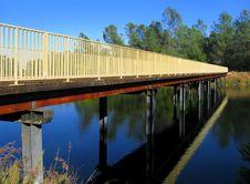 Free Bridge Over The River Stock Photo - 4650240