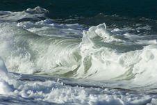 Free Braking Wave Stock Image - 4650961