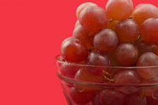 Free Grapes In Bowl Stock Photo - 4651660