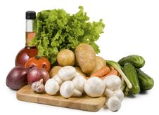 Free Still-life With Vegetables. Royalty Free Stock Photo - 4651875