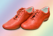 Free Red Shoes Isolated Royalty Free Stock Photos - 4651948