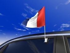 Free Car Flag Royalty Free Stock Image - 4652446
