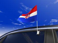 Car Flag Stock Photos