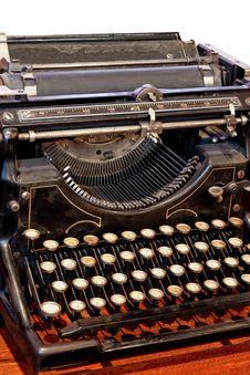 Free Typewriter Stock Photography - 4652542