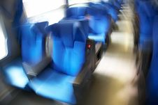 Free Train Seats Royalty Free Stock Image - 4653006
