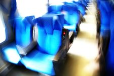 Free Train Seats Royalty Free Stock Image - 4653016