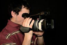 Free Cameraman Royalty Free Stock Photos - 4653088