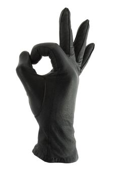 Free Ok Sign - Glove Without Hand Stock Photography - 4653412