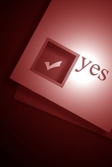 Free Yes Stock Photography - 4653502