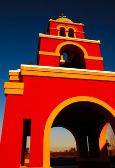 Free Mission Bell Tower Royalty Free Stock Photos - 4654208