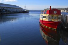 Free Old Red Boat Royalty Free Stock Photo - 4654385