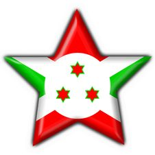 Free Burundi Button Flag Star Shape Royalty Free Stock Photography - 4654547