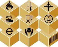 Free Symbol, Packing Royalty Free Stock Photos - 4654568