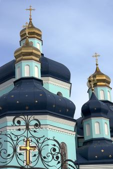 Spaso-Preobrazhenskiy Cathedral Royalty Free Stock Photography